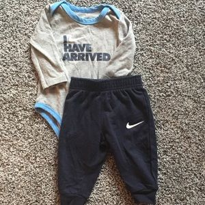 Nike Matching Sets - 9 months 2 piece Nike set